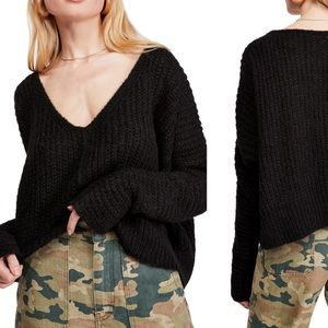 ✨ New ✨ Free People V-Neck Sweater